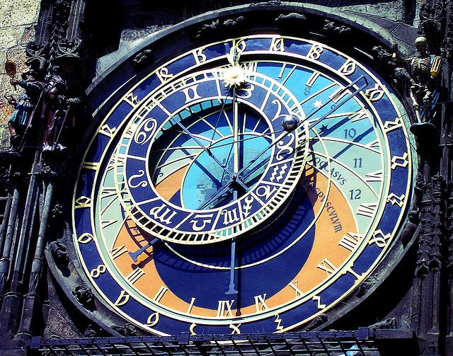 Uhr am Prager Münster